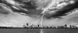 Thunderstorm Landscape Photography Print