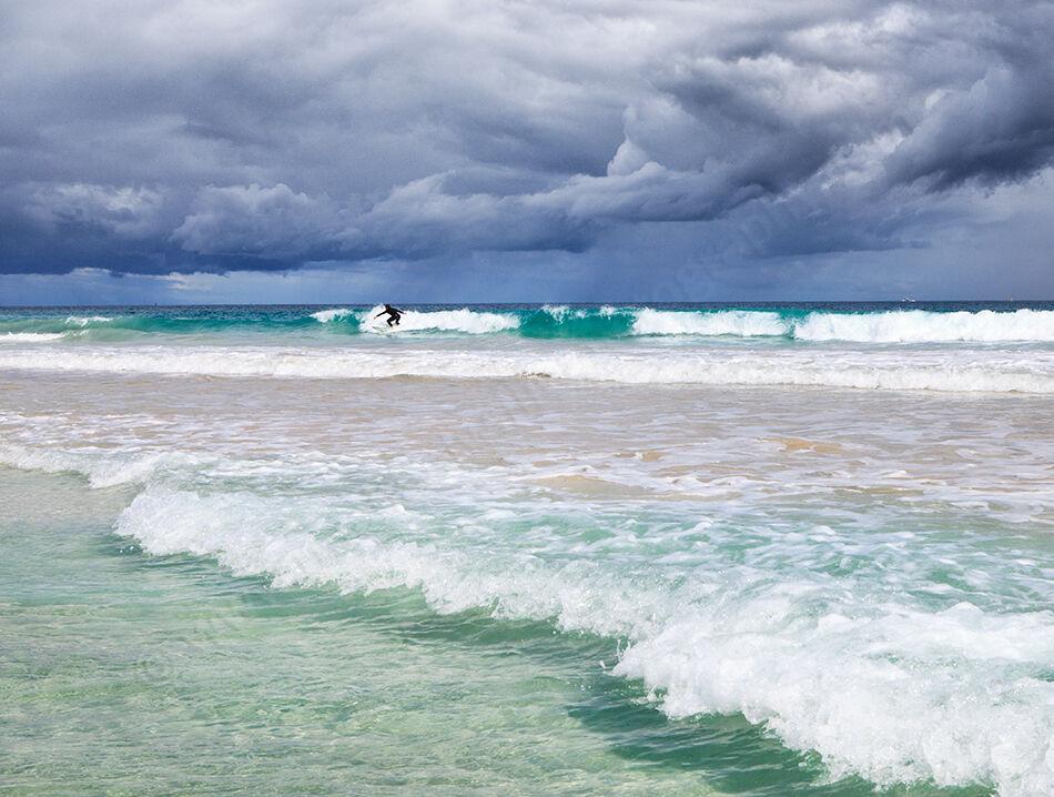 Trigg Surfer Landscape Photography Print