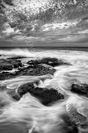 Turbulent Landscape Photography Print