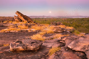 Ubirr Moonrise, Kakadu National Park Landscape Photography Print