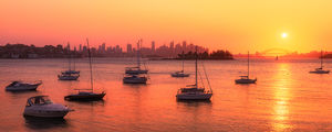 Vaucluse Sunset, Sydney Landscape Photography Print