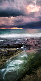 Winter Sunset at Burns Beach Landscape Photography Print