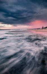 Winter Sunset at North Cottesloe Beach Landscape Photography Print