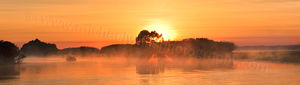Yellow Water Sunrise, Kakadu National Park Landscape Photography Print