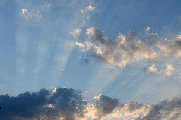 Sky Streaks at Sunset