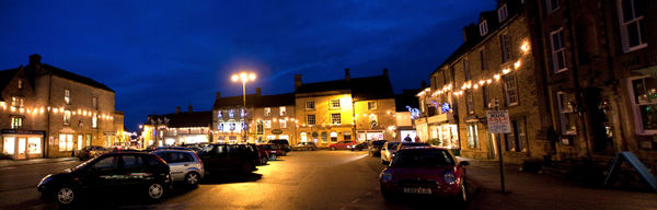 Stow on the Wold at Night