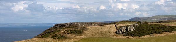 Rock Formations at Tintagel