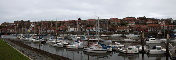 Boats in Harbour Whitby