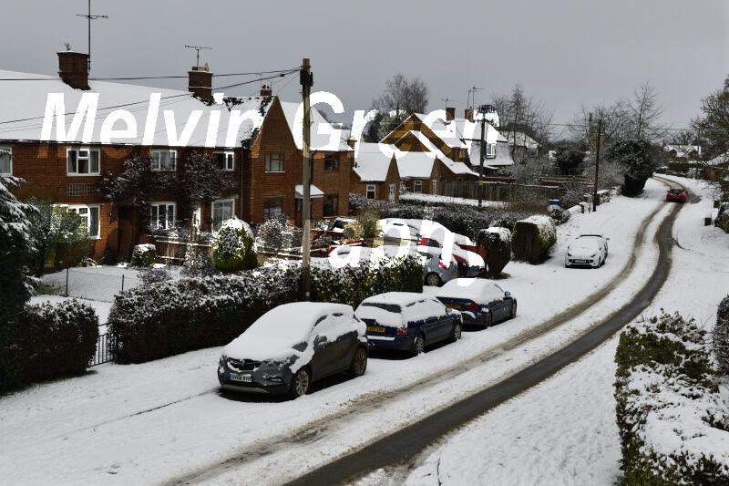 Village in Snow