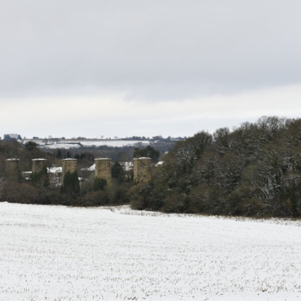 Hook Norton Viaduct in the Winter