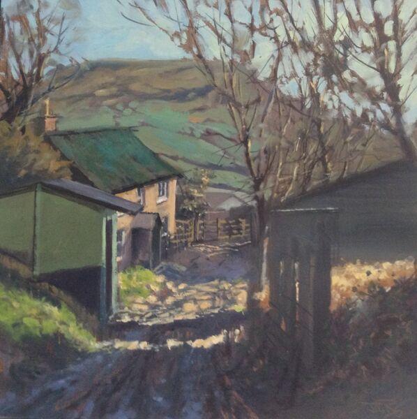 'Upcot Farm, Golden Cap' (sold)