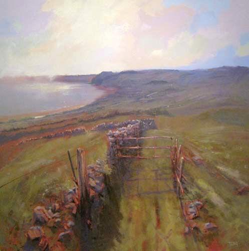 'Above Lyme Bay' (sold)