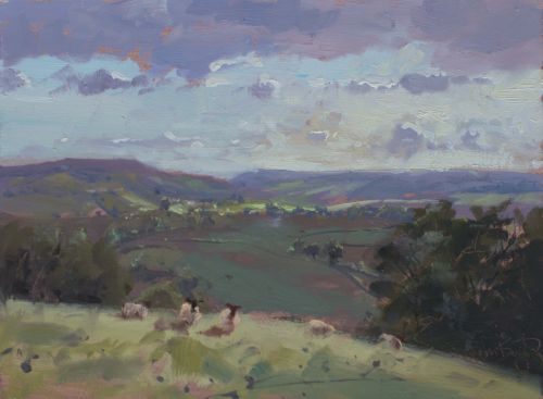 'Above Beaminster'