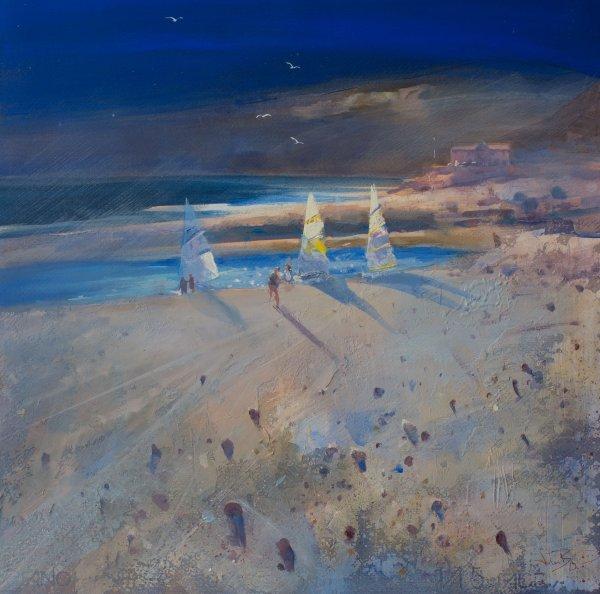 'Sailboats,Charmouth' (sold)