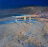 'Sailboats,Charmouth' (sold)