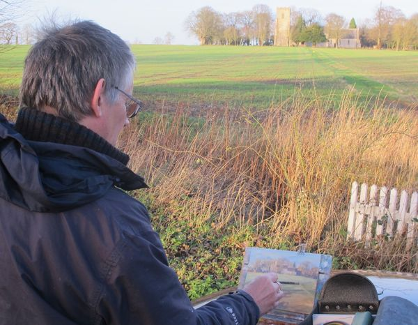 Painting in Suffolk
