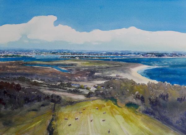 """Poole Harbour & Studland' (sold)"