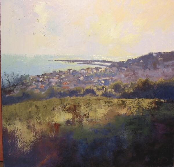 'View over Lyme' (sold)