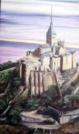 Across the Baie du Mont St Michel. Normandy Landscapes Collection