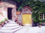 Courtyard, Château de Carrouges, Normandy Landscapes Collection