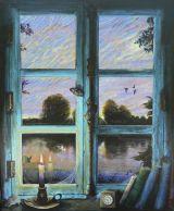 Window at Dusk