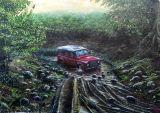 Land Rover Defender. Commission
