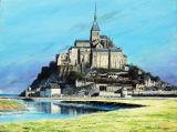 Mont St Michel en detail, Normandy Landscapes Collection.