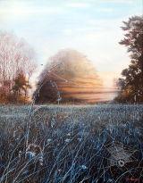 Winter Sunrise, Huttereaux. Normandy Landscapes Collection