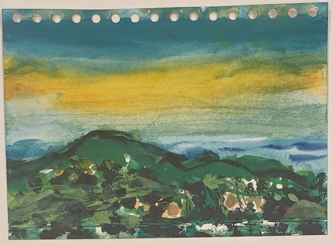 Beeston Bump sunset