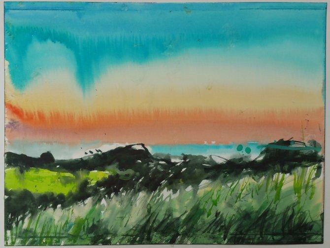 Norfolk Beeston Bump sunset