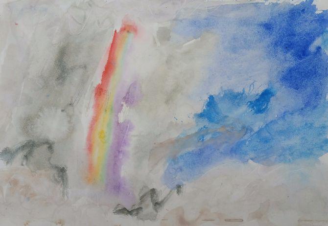 Tha Sala rainbow