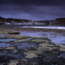 Storm clouds over Staithes