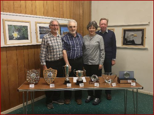 Club Competition Winners 2019