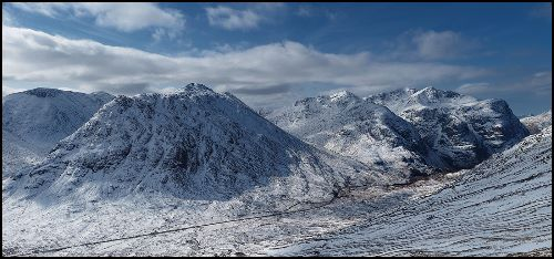 Late winter, Glencoe