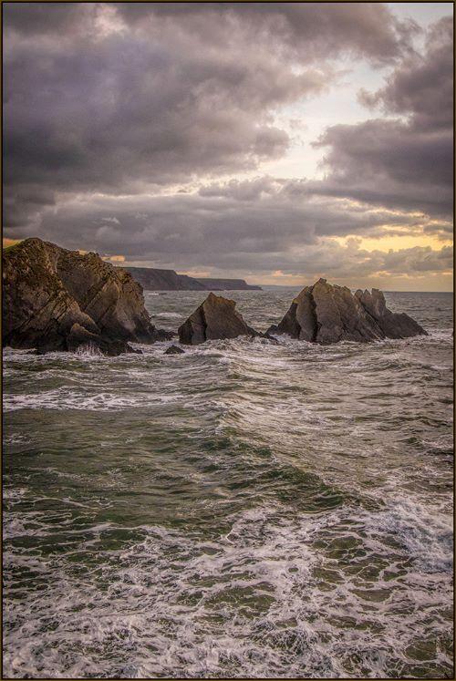 Wreckers' Coast, Hartland Quay Devon