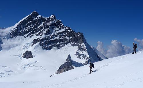 Descending the Monch