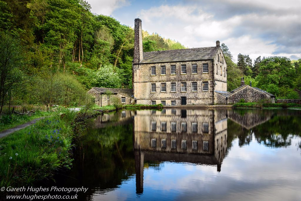 Reflections of Gibson Mill