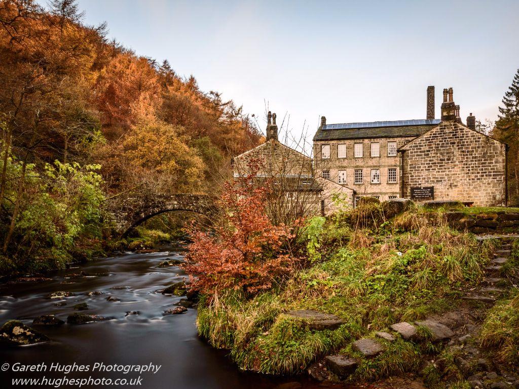 Gibson Mill in Autumn