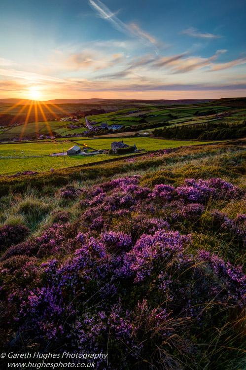 Pecket Well Sunset