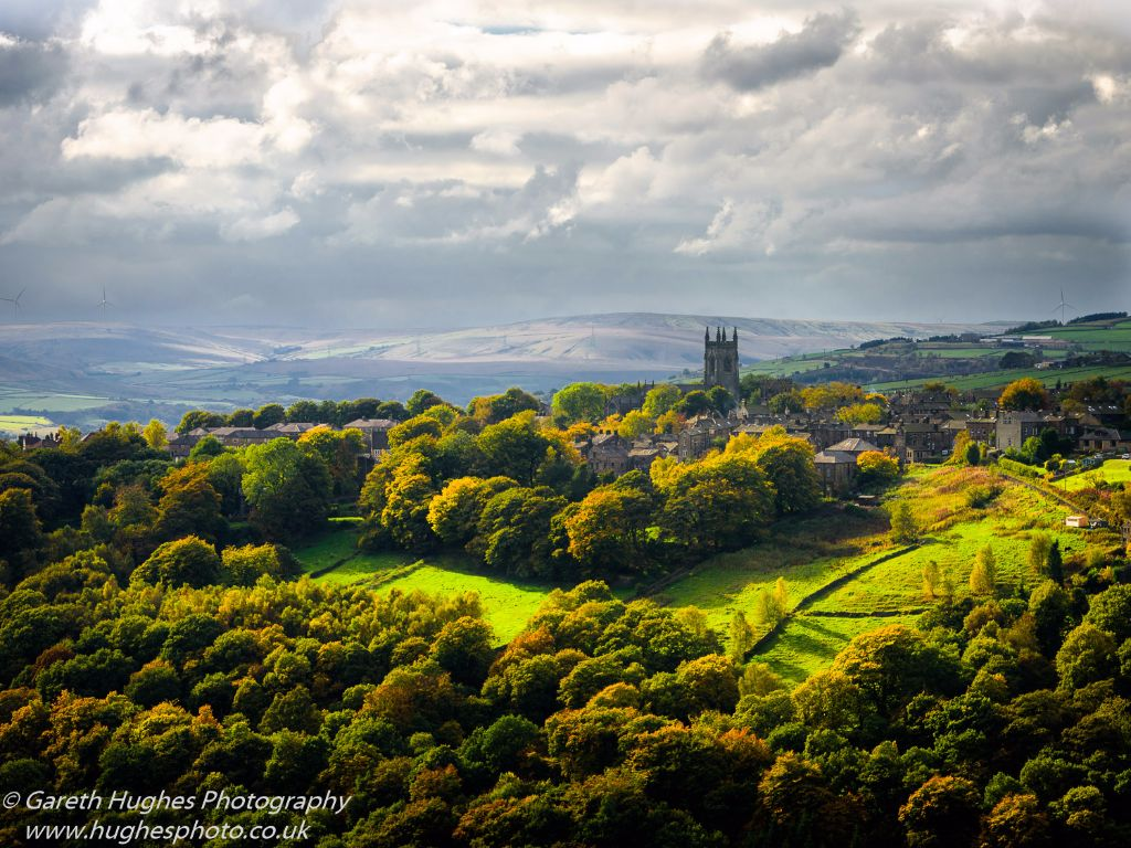 Heptonstall in Autumn