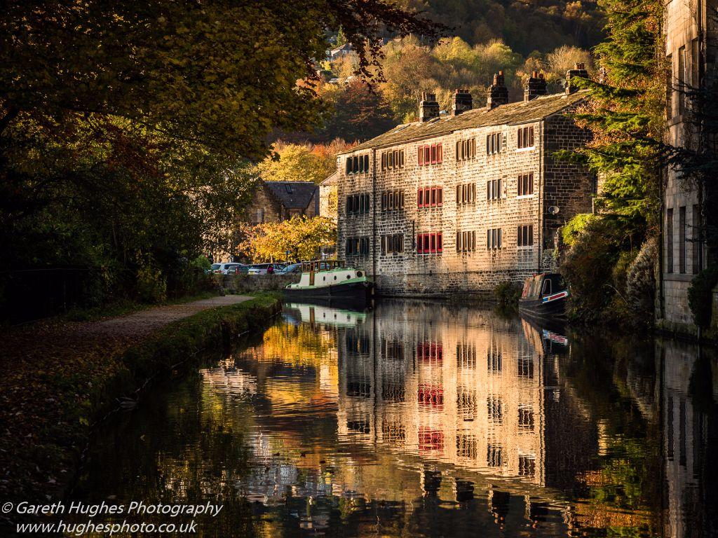 Reflections of Hebden Bridge