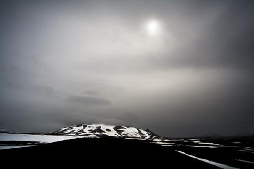Black Lava Landscape