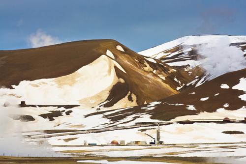 Industrial Landscape, Mount Krafla