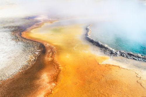 Thermal Runoff, Yellowstone