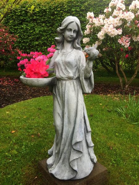 Flowergirl in Rhododendron heaven