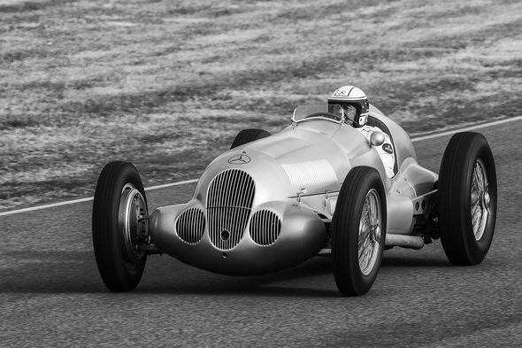 1st#AndyLeeder#Silver Arrow - 1937 Mercedes