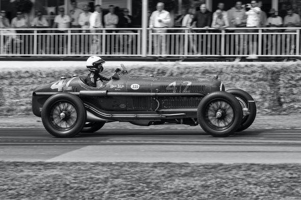 2nd#1935 Alpha Romeo P3#AndyLeeder