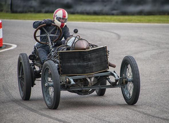 3rd#Andy Leeder#Aged 114years - 1905 Darraq Land Speed Record Holder