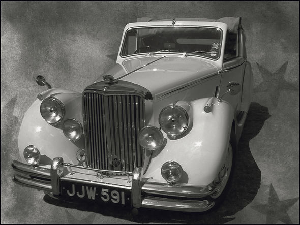 3rd#Rex Makemson#1951 Jaguar MKV 3.5 DHC