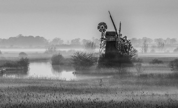 """2nd Place """"Early Morning"""" Pete Sorrell"""